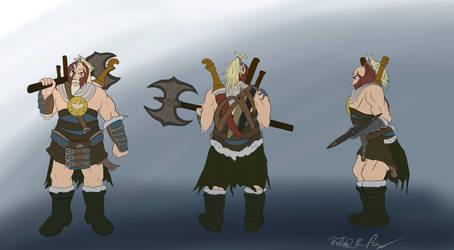 Vantak: Weretiger Warrior by xchainlinkx