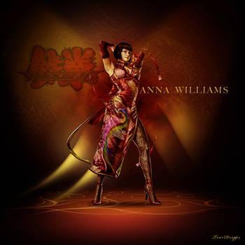 Anna Williams from Tekken by TearDropps