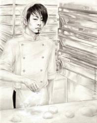 Miya the baker by hedspace77