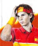 Rafael Nadal - El Toro by hedspace77