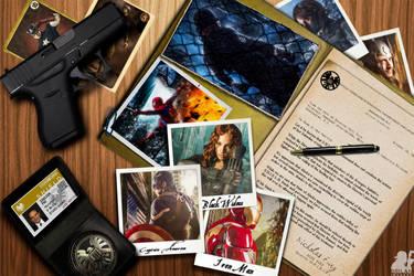 Coulson's Desk by MrSnugglez84
