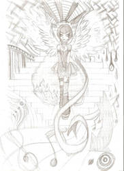 Angel of music by freakmadness
