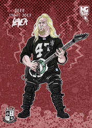 Metal Gods - Jeff Hanneman by Gengiskahn
