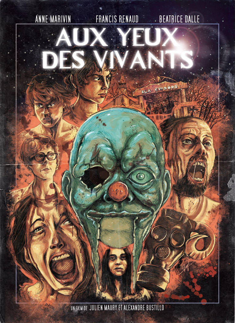 Aux Yeux des Vivants - alternative movie poster by Gengiskahn