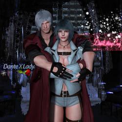 Dante X Lady by MsDeadable