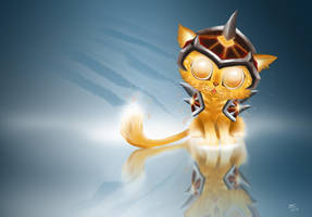 Cinder Kitten by SerraArc