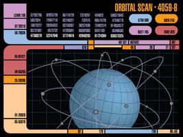LCARS Orbital Scan by TronTrek