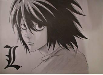 L - Death Note by Uzumaki18