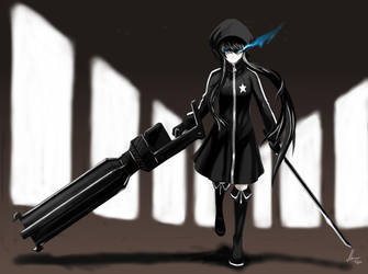 Black Rock Shooter by HaruSaku