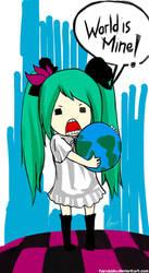 Miku - World is Mine by HaruSaku