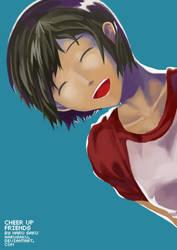 Cheer Up Friends by HaruSaku