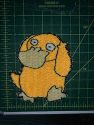 Psyduck Embroidered Patch by LittleElephantMusan