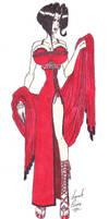 Stunning in Red by Billby13