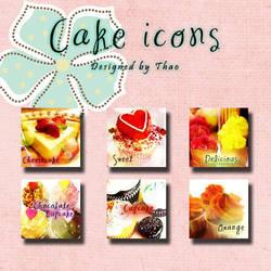 Cake icons by bibi-bummie