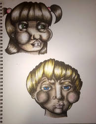little kid faces? by ta11y16lupus