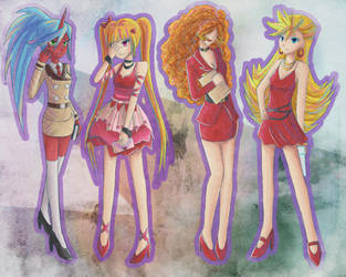 .:Red Ladies:. by Ami-Magane