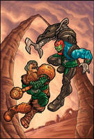 Masters of the Universe by MBorkowski