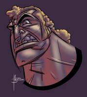 Brock F'n Samson by MBorkowski