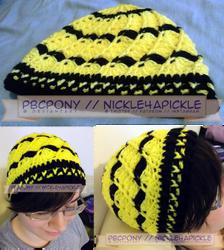Shell Hat: Hufflepuff by pbcpony