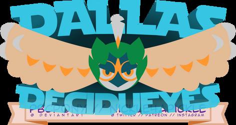 Dallas Decidueyes Logo by pbcpony
