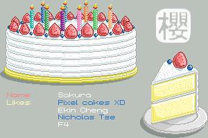 I Love Pixel Cakes XD by sakura13