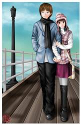 A Walk Down the Pier by sakura13