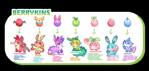 NEW species! - Ultimate Berrykins Guide by scarletscreations