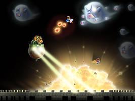 Koopa vs Mario by xXLightsourceXx