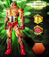 TMNT Krang-suit fan concept by xXLightsourceXx