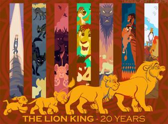 The Lion King 20th Anniversary by GrowlyLobita