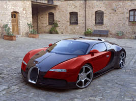 Modded Bugatti Veyron by skaterava