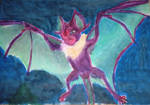 Copy of RJ Palmer's Noivern in Oil Pastel by MosasaurWorks