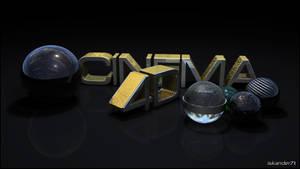 Gold cCinema 4D by iskander71