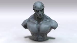 Digital Sculpt by iskander71