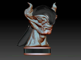 Face concept wip by iskander71