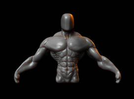 Body sculpture by iskander71