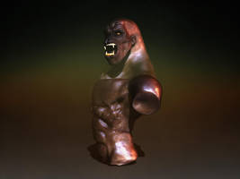 hominid pose by iskander71