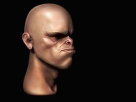 Alien face (suit) by iskander71