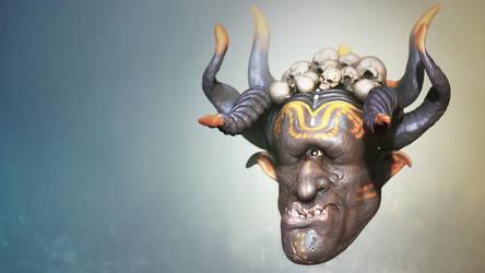 Cyclops face by iskander71