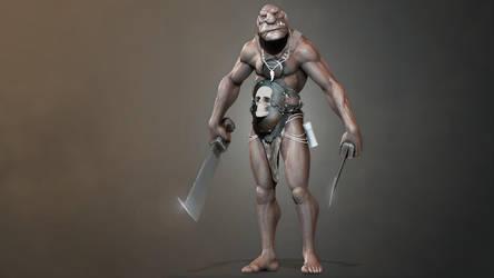 Troll character by iskander71