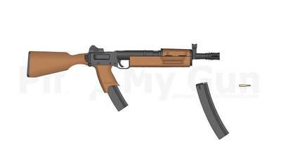 Cultist Assault Rifle  by tbartosiewicz