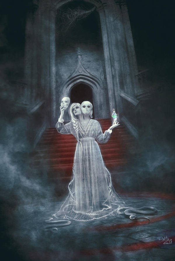 The Evil Sorcerer - Ghost Stories by Dani-Owergoor