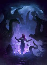 Rising Warrior by Dani-Owergoor