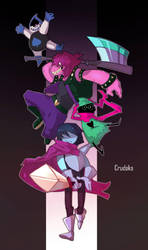 DELTARUNE by Crudaka