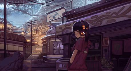 Underground Town Shop by Klegs