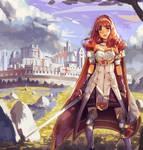Fire Emblem Echoes - Celica by Klegs