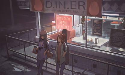 Night Diner by Klegs
