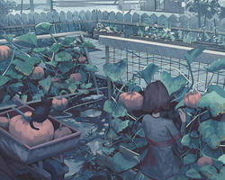 Pumpkin Harvest by Klegs
