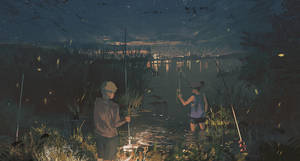 Night Fishing by Klegs
