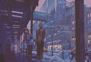 Light Snow by Klegs